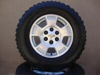 NEW! SILVERADO WHEELS w/BF GOODRICH ALL TERRAINS $1450/SET NEW!