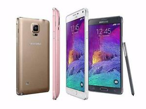 Samsung Galaxy Note 4 - New &Unlocked in Box w/Accessories @ 329.99 $-Buy from Store w/Receipt &Warranty Black &White
