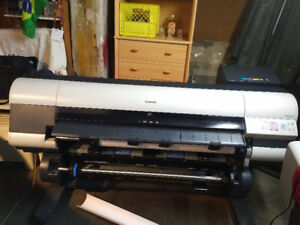 Canon iPF 825 wide format plotter for sale. 44'' wide