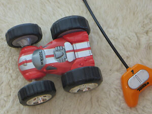 Tonka Bounce Back Racer Orange on one side, red on the other