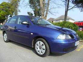 SEAT IBIZA 1.4 16v 2004 ONLY 85,000 MILES COMPLETE WITH M.O.T HPI CLEAR