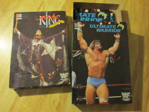 WWF WWE Macho Man Randy Savage Ultimate Warrior Jigsaw Puzzle