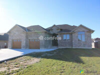 New house for sale, walking distance to the lake