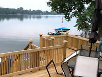 Lakefront Northlander Cottager in Beautiful Picton - waterfront