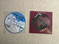 Deep Purple in Rock & Charlie - Fight Dirty vinyl records LPs albums