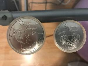 Pièces de collection en argent - Jeux olympique 1976