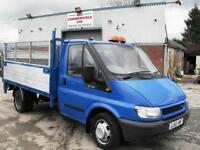FORD TRANSIT DROPSIDE WITH TAIL LIFT NOT TIPPER, NEW MOT, VERY CLEAN, NO VAT!
