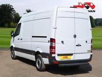 2012 MERCEDES-BENZ SPRINTER 313 CDI Euro 5 Medium Wheel Base High Roof Panel Van