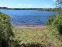 Lakefront lot for sale WITH SANDY BEACH