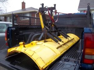 myer's  8 foot power angle  snow plow blade