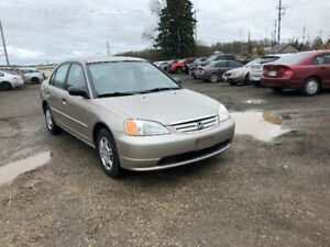 2001 Honda civic LX CERTIFIED!