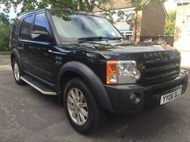 2006 LAND ROVER DISCOVERY 3 2.7 HSE - TIMING BELTS DONE AND GEARBOX REFURBISHED- LONG MOT