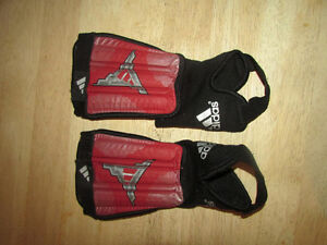 Adidas Soccer shin pads with ankle guards