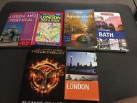5 travel guides and hunger games for £5
