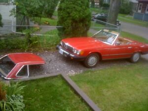 CLASSIC 1983 380 SL Mercedes Convertible BEST OFFER TAKES
