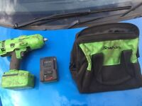 Snap on 18v impact gun only used a handful of times