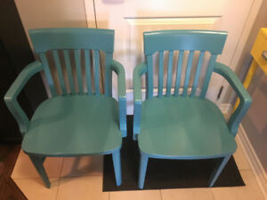 2 H. Krug Chairs for sale ($80 for both or $40 each)