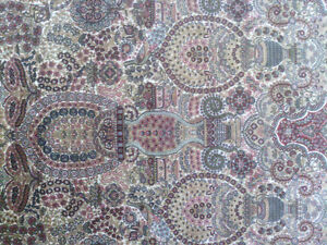 Very Fine Hereke Hand-Knotted Silk Rug - 800-850 kpsi North Shore Greater Vancouver Area image 1