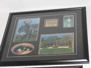 Tiger Woods Framed Print or Gretzky or Leafs or Bobblehead