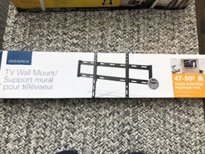 "Insignia TV mount 47-80"". Brand new unopened box"