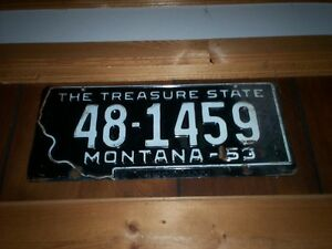 Two very old licence plates