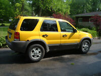 2001 Ford Escape XLT V6 4x4 SUV, Crossover