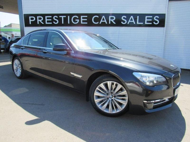 2014 BMW 7 Series 3.0 730Ld SE Exclusive (s/s) 4dr Diesel grey Automatic
