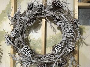 Wood Christmas Wreath
