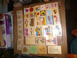 Scrap Book Stamps and ink