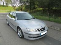 2007 '57' SAAB 9-3 1.9TiD ( 150ps ) AUTO 4 DOOR SALOON IN MET SILVER ONLY 68,000
