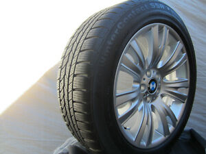 """2015 BMW X5 factory 19"""" M style winter wheel package"""