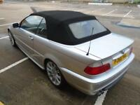 2005 (55) BMW 3 SERIES CONVERTIBLE 320 2.2 CI M SPORT FULL LEATHER LOW MLES