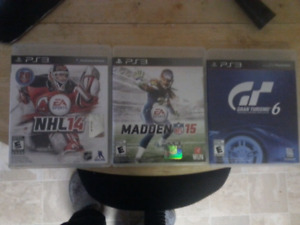 3 ps3 games for sale  ** PRICE REDUCED