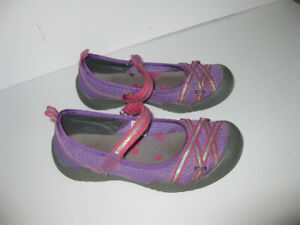 Girls Sport Mary Jane Shoes size 1