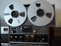 TEAC A-3300 3 heads R&R Deck and NAB and Tape