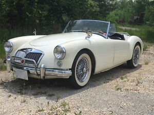 1958 MGA Roadster with Wire wheels
