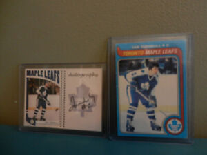 Toronto Maple Leafs Turnball,McKenny In The Game Auto