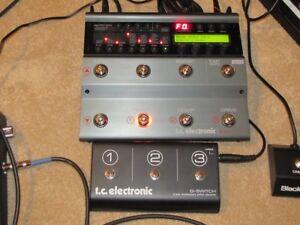 Pédale guitare tc electronic nova system