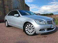 *12 MTHS WARRANTY*2009(09)MERCEDES C200 1.8 AUTO ELEGANCE WITH ONLY 43K FSH**