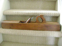Antique Sheffield wood planer