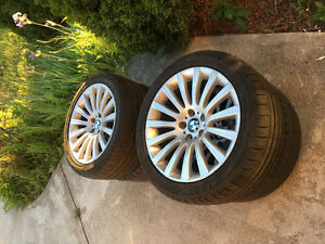 BMW Summer Tires, in good condition, for BMW 7 series