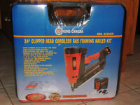 Cordless Gas Framing Nailer