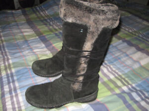 Leather, winter, Denver Hayes 9M womens boots