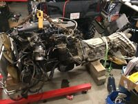 6.7 cummins with 6spd tranny and transfer case