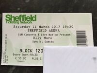 Olly Murs Ticket Sheffield