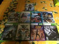 Varied Video games $10 each