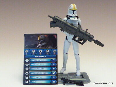 STAR WARS Oddball Pilot CW14 THE CLONE WARS COLLECTION TCW SOTDS 3.75 LOOSE