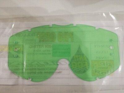 2 X pro Grip Brille Rolle auf Linse Anti-nebel Anti-kratzer - Klar