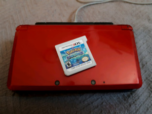 Nintendo 3DS with charging stand and pokemon game only $100