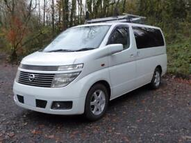 Nissan Elgrand E51 with high quality professional conversion